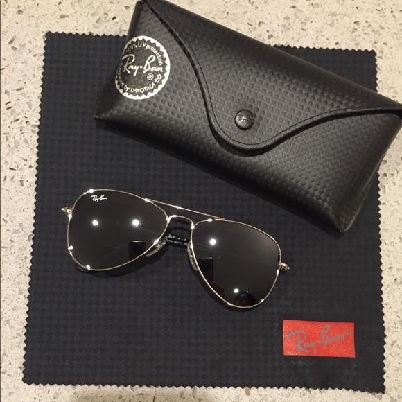Ray-Ban Accessories   Rayban Aviator Junior Sunglasses   Poshmark ae348b5cc86d